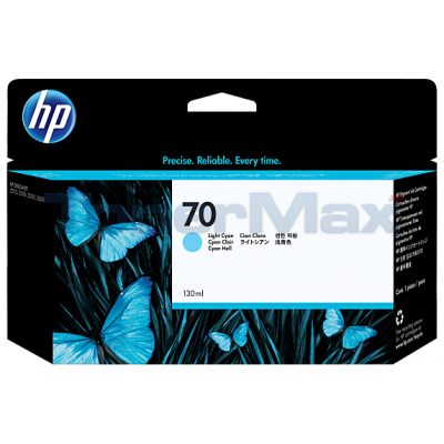 HP DESIGNJET Z2100 NO 70 INK LIGHT CYAN 130ML